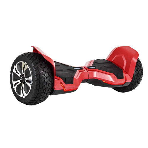 "All-Terrain 8.5"" Wheels Off-Road Hoverboard Self Balancing Scooter with Bluetooth Speaker & Tron Lights - UL2272 Certified, G2, Black / Blue / Red / White"
