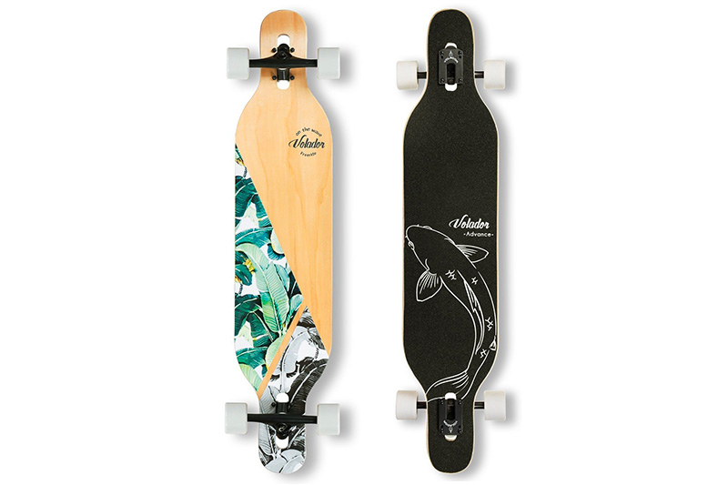 Top 10 Best Longboard Skateboard for Heavy Rider of 2019 Review