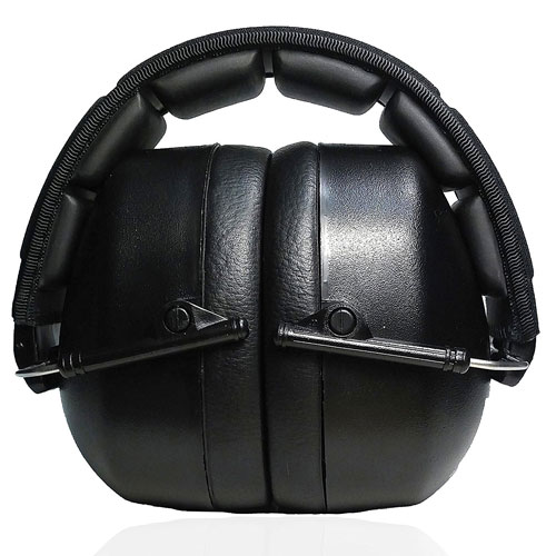 Professional Safety Ear Muffs by Decibel Defense - 37dB COMFORTABLE Ear Protection