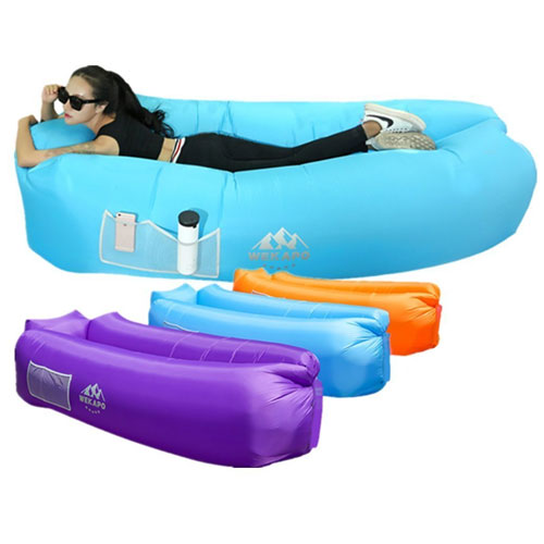 WEKAPO Inflatable Lounger Air Sofa Hammock-Portable, Water Proof& Anti-Air Leaking Design-Ideal Couch