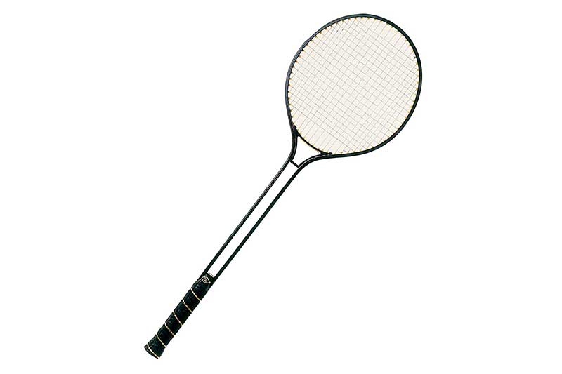 Champion Sports Aluminum Double Shaft Badminton Racket with Steel Strings