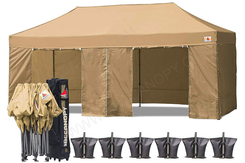 ABCCANOPY Deluxe 10x20 Pop up Canopy Outdoor Party Tent Commercial Gazebo