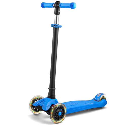 LaScoota 2-in-1 Kick Scooter with Removable Seat Push Scooter