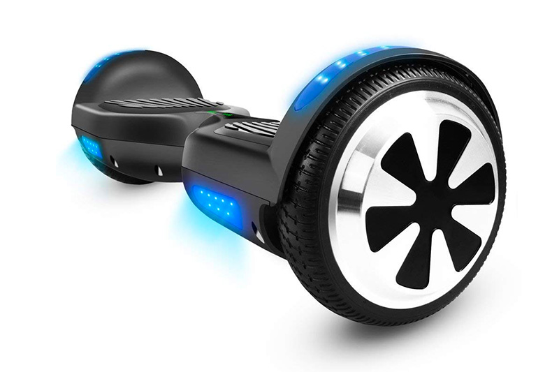 "Veeko Hoverboard Two-wheel Self Balancing Scooter with UL2272 Certified 6.5"" Wheel Electric Hoverboard for Kids and Adult Outdoor Sports"